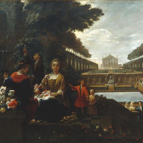 Antoni Viladomat - La primavera - Entre 1730-1755