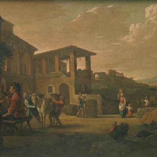 Antoni Viladomat - La tardor - Entre 1730-1755