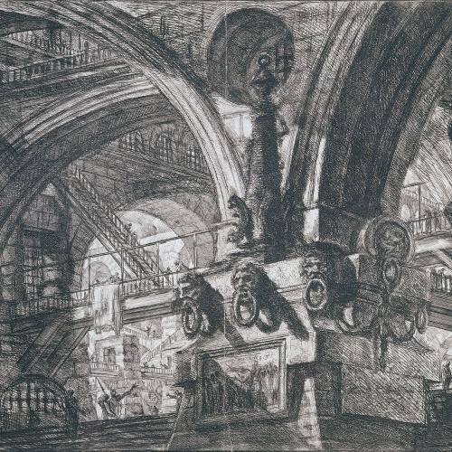 Giovanni Battista Piranesi - Presó - Cap a 1760