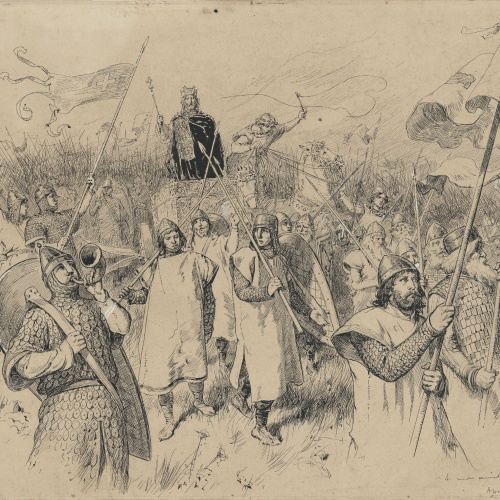 Apel·les Mestres - The extermination - 1884