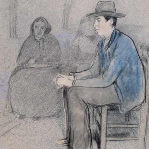 Santiago Rusiñol - Després de la guerra. La llar trista - Cap a 1898