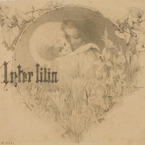 Alexandre de Riquer - Inter lilia - 1891-1893