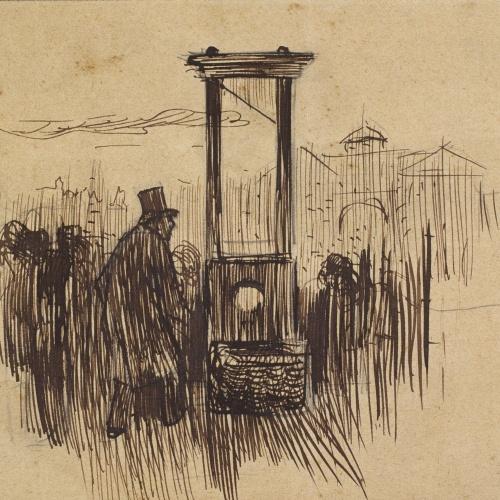 Ramon Casas - Guillotine - 1892