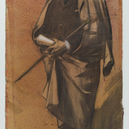 "Ramon Casas - Portrait of Pompeu Gener i Babot, ""Peius"" - Circa 1897-1899"