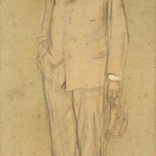 Ramon Casas - Retrato de Josep Puig i Cadafalch - Hacia 1897-1899