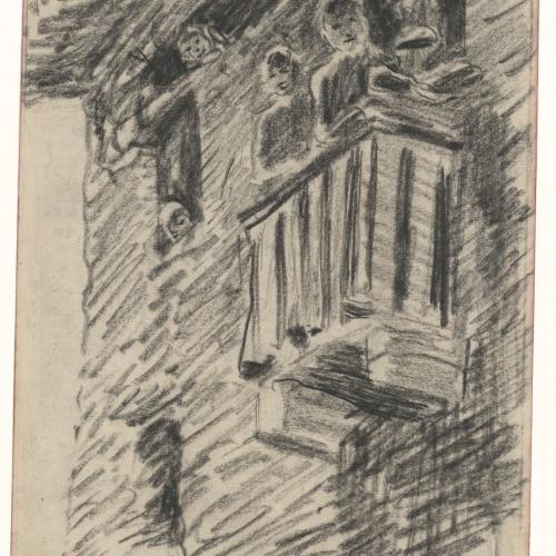 Darío de Regoyos - Toros en Villarreal - 1887
