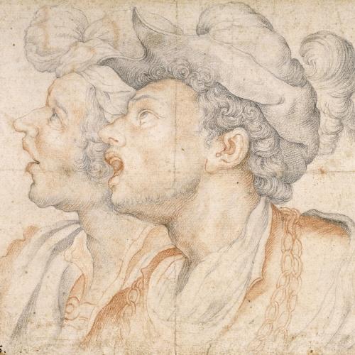 Camilo Procaccini - Dos caps de joves - Entre 1587-1595