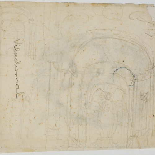 Antoni Viladomat - Sketch of an altarpiece - Circa 1720-1740