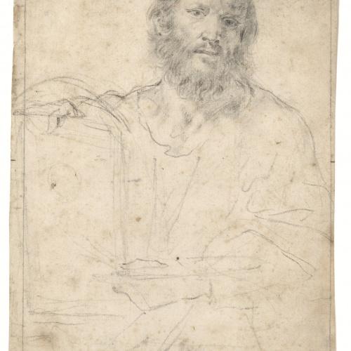 Antoni Viladomat - Sant Lluc - Cap a 1720-1730
