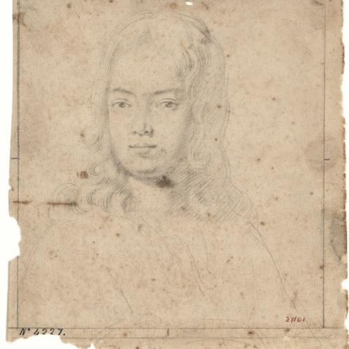 Antoni Viladomat - Retrat masculí - Cap a 1720-1755