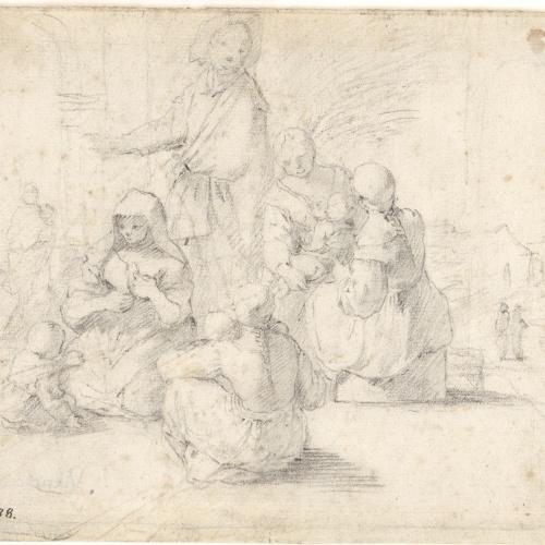 Antoni Viladomat - Mendicants - Cap a 1720-1755