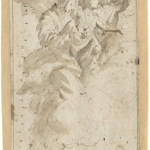 Antoni Viladomat - Study of angels - Circa 1720-1740
