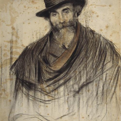 Ramon Casas - Portrait of Jaume Pahissa - Circa 1904-1906