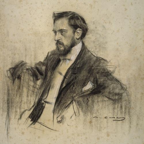 Ramon Casas - Portrait of Rafael Domènech - 1904