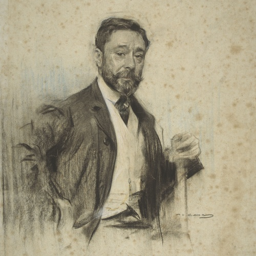 Ramon Casas - Portrait of Gonzalo Bilbao - 1904