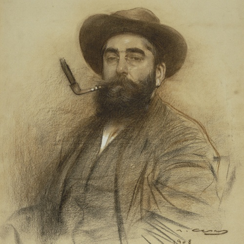 Ramon Casas - Self-portrait - 1908