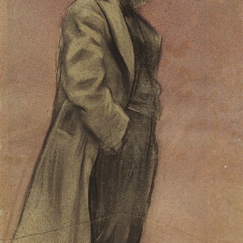 Ramon Casas - Retrato de Eliseu Meifrèn - Hacia 1897-1899