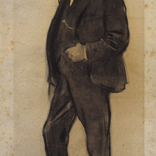 Ramon Casas - Retrato de Josep Reynés - Hacia 1897-1899
