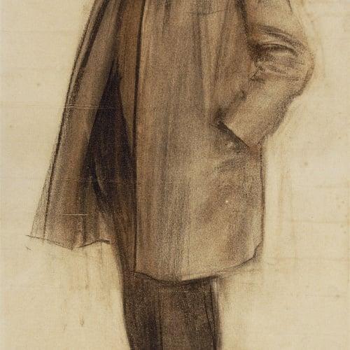 Ramon Casas - Retrat de Manuel Fuxà - Cap a 1900