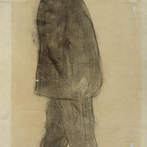 Ramon Casas - Retrato de Venanci Vallmitjana - Hacia 1897-1899