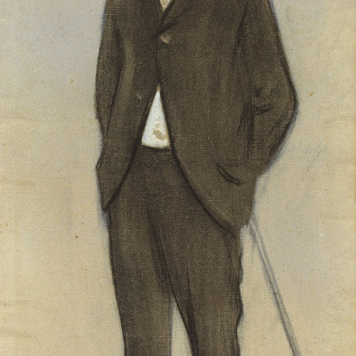 Ramon Casas - Retrato de Feliu Mestres - Hacia 1897-1899