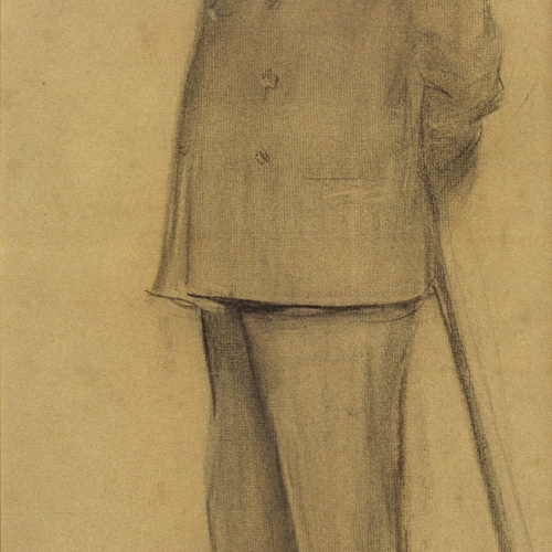Ramon Casas - Retrato de Lluís Graner - Hacia 1897-1899