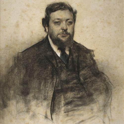 Ramon Casas - Portrait of Léon Jaussely - Circa 1903