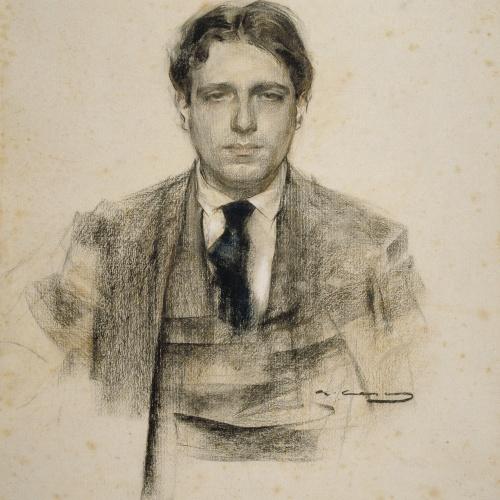 Ramon Casas - Retrato de Eugeni d'Ors - Hacia 1906-1907