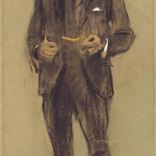 Ramon Casas - Retrato de Segundo Matilla - Hacia 1897-1899