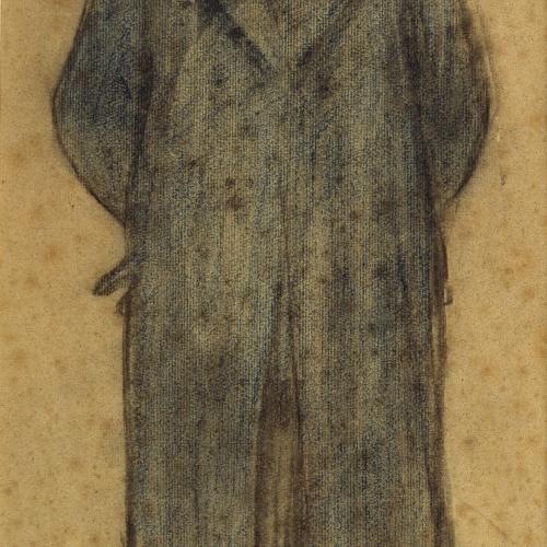 Ramon Casas - Retrato de Bonaventura Bassegoda - Hacia 1897-1899