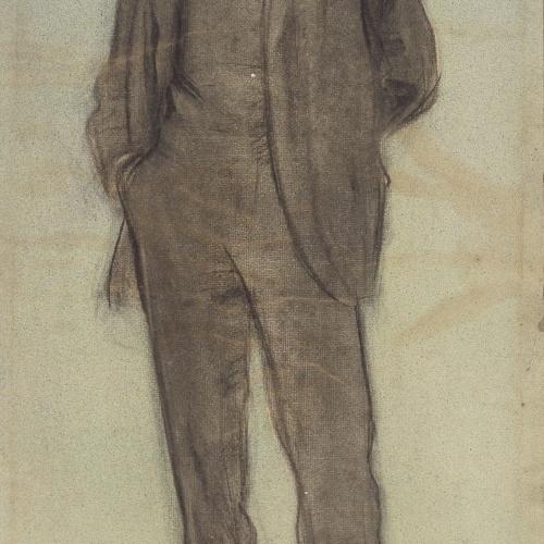 Ramon Casas - Portrait of Lluís Labarta - Circa 1897-1899