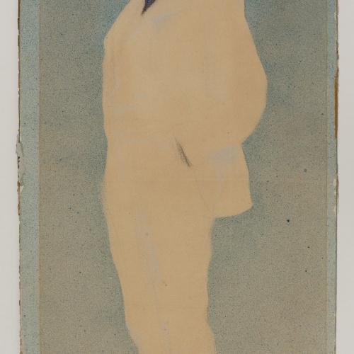 Ramon Casas - Retrato de Antoni Utrillo - Hacia 1897-1899