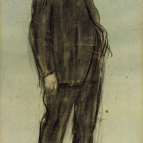 Ramon Casas - Retrato de Josep Pascó - Hacia 1897-1899