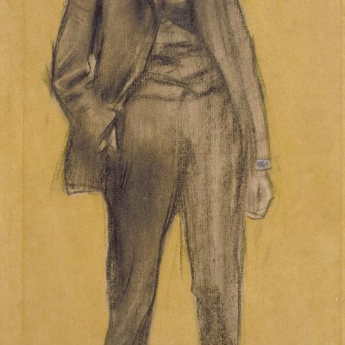 Ramon Casas - Retrato de Ramon Pichot - Hacia 1897-1899