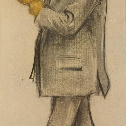 Ramon Casas - Retrato de Antoni de Ferrater - Hacia 1897-1899
