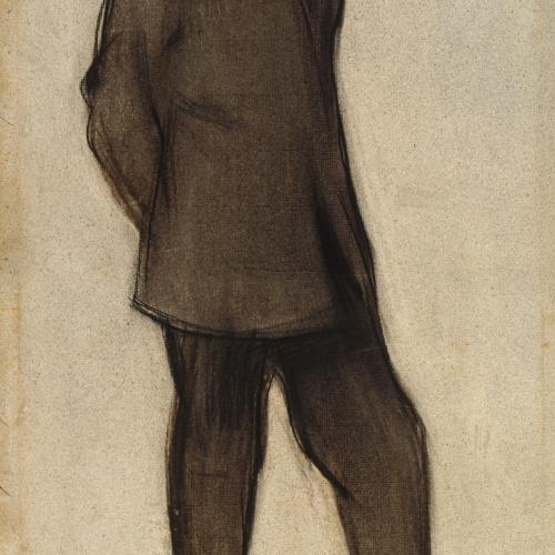 Ramon Casas - Retrato de Isidre Nonell - Hacia 1897-1899