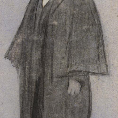 Ramon Casas - Portrait of Adrià Gual - Circa 1897-1899