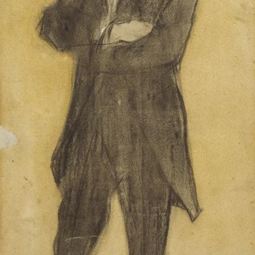 Ramon Casas - Retrato de Torquat Tasso - Hacia 1897-1898