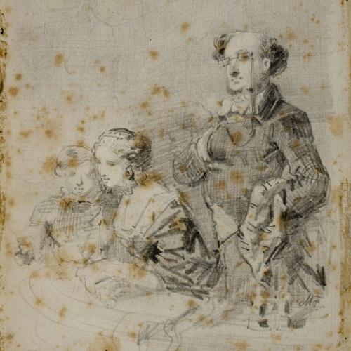 Marià Fortuny - A la llotja - Cap a 1853-1858