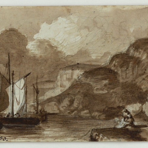 Marià Fortuny - Landscape - Circa 1853-1856