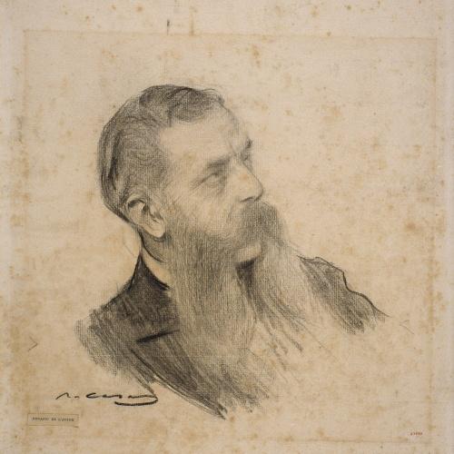 Ramon Casas - Retrato de Guillem de Boladeres - Hacia 1903-1904