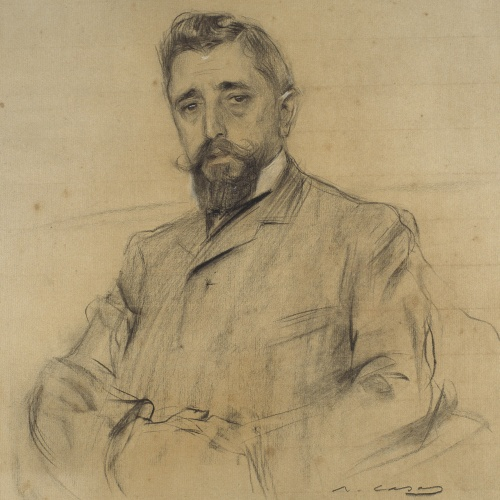 Ramon Casas - Retrato de Manuel Fabra - Hacia 1906-1908