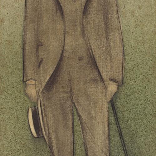 Ramon Casas - Retrato de Salvador Vilaregut - Hacia 1897-1899