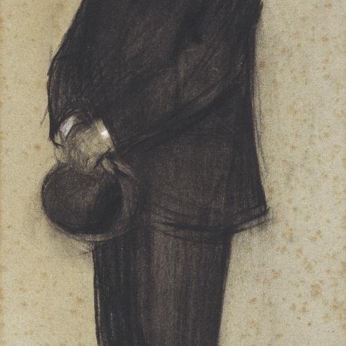 Ramon Casas - Retrato de Teodor Baró - Hacia 1897-1899