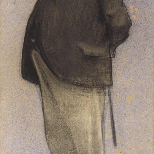 Ramon Casas - Retrato de Daniel Ortiz - 1898