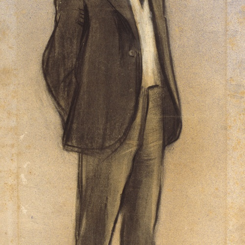 Ramon Casas - Portrait of Jaume Massó i Torrents - Circa 1897-1898