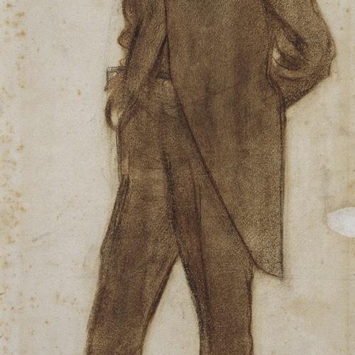 Ramon Casas - Retrat de Bartomeu Robert - Cap a 1900