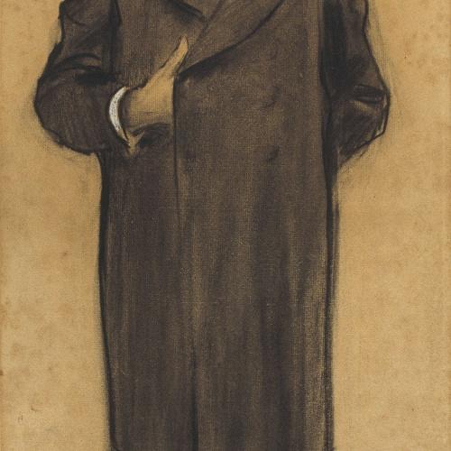Ramon Casas - Retrato de Manuel Duran i Bas - Hacia 1897-1898