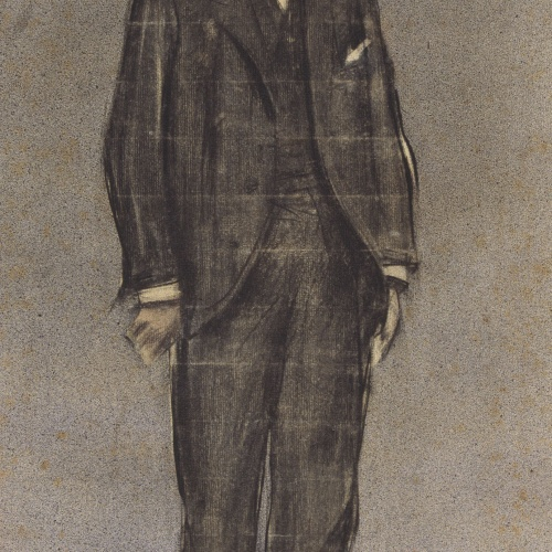 Ramon Casas - Retrato de Esteve Suñol - Hacia 1897-1899