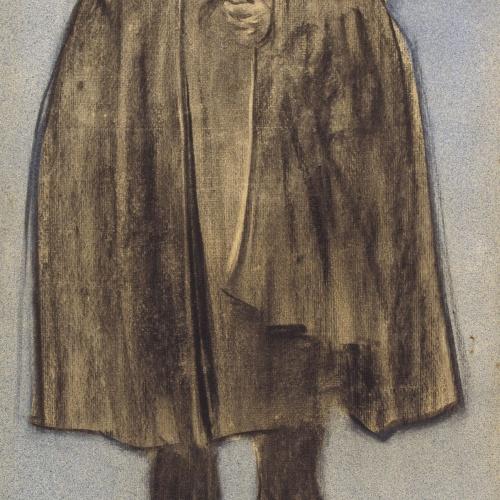 Ramon Casas - Retrato de Albert de Sicília Llanas - Hacia 1897-1898
